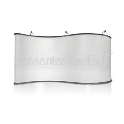 Advertising Booth Design Two Presentation clipart