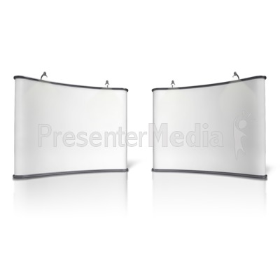 Advertising Booth Design Five Presentation clipart