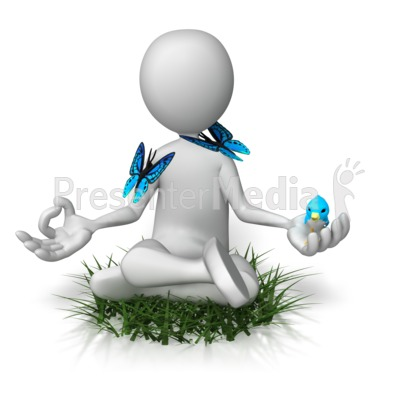 Being One With Nature Presentation clipart
