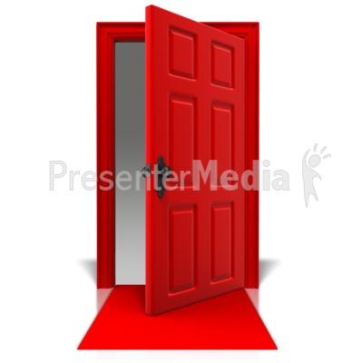 Blank Door Mat Presentation clipart