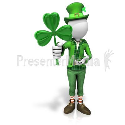 Luck Of The Irish Presentation clipart