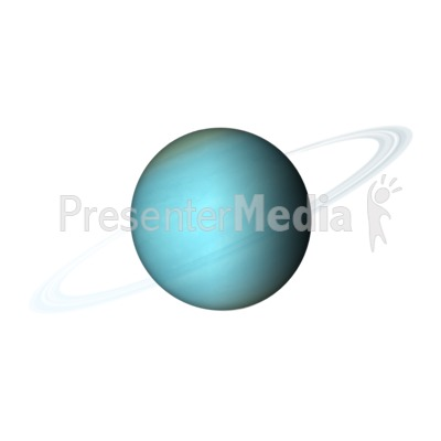 the planet uranus science and technology great clipart for rh presentermedia com  uranus clipart black and white