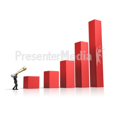 Seeing The Future Market Presentation clipart