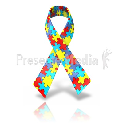 Autism single ribbon presentation clipart great clipart for autism single ribbon powerpoint clip art toneelgroepblik Image collections