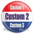 Custom Text Badge Presentation Clipart