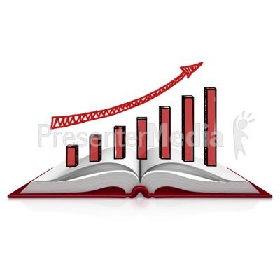 Book Graph Sketch Presentation clipart