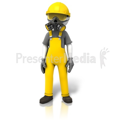 Construction Safety Accessories Presentation clipart
