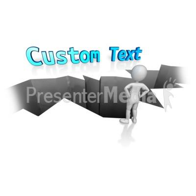Custom Text Gap Presentation clipart