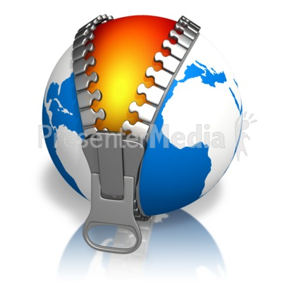 Earth Skin Core Presentation clipart
