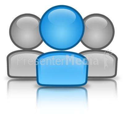 group leader icon presentation clipart great clipart for rh presentermedia com Animated Clip Art for PowerPoint Computer Clip Art for PowerPoint