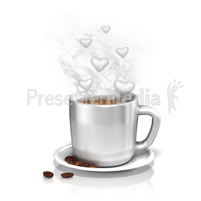The Love of Coffee Presentation clipart