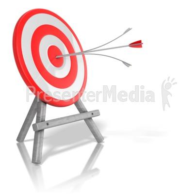 Arrow Target Split Presentation Clipart Great Clipart