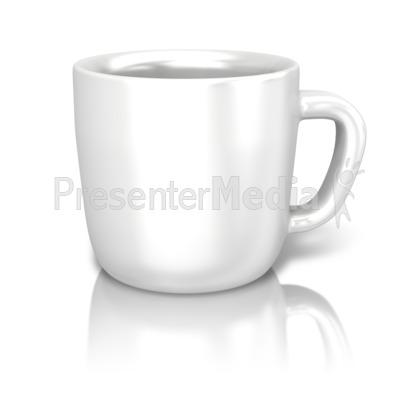 Single Coffee Cup Presentation clipart