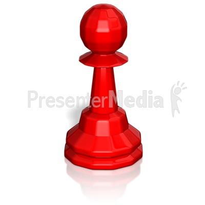 Pawn Chess Piece Presentation clipart