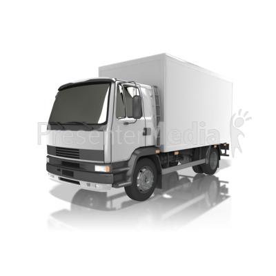 Delivery Truck Presentation clipart