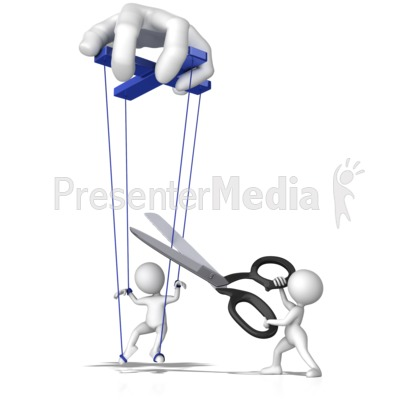 Freeing From Control Presentation clipart