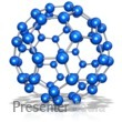 ID# 14308 - Molecular Structure Expanded Clip - Presentation Clipart
