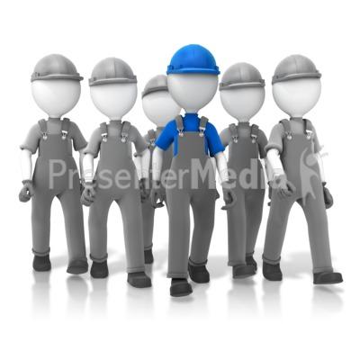 Construction Crew Leader Presentation clipart