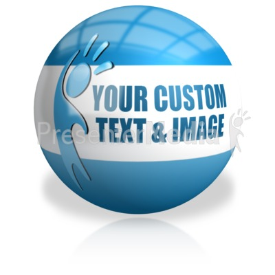 Sphere Custom Presentation clipart