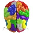 Creative Brain Colored Presentation Clipart