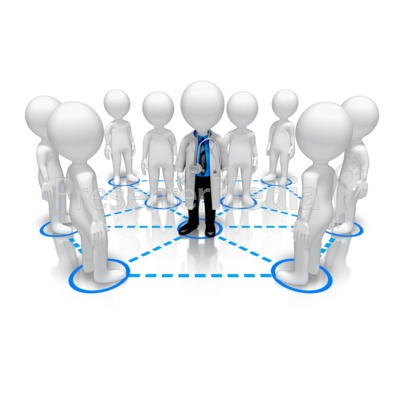 how to create a network of people