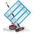 Curling Field Equipment Presentation Clipart