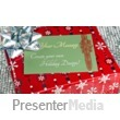 Glittering Present Custom Presentation Clipart