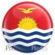 Kiribati Badge Presentation Clipart