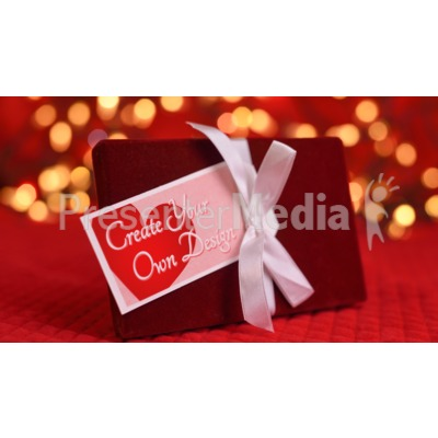Valentine Gift Custom Presentation clipart