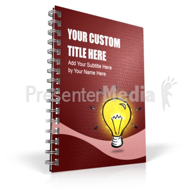 Single Binder Presentation clipart