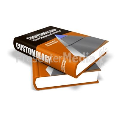 Custom Textbooks Presentation clipart