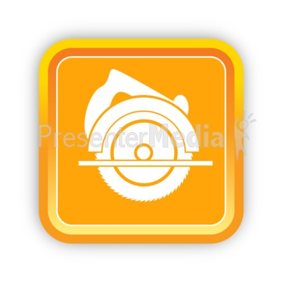 Construction Circular Saw Presentation clipart