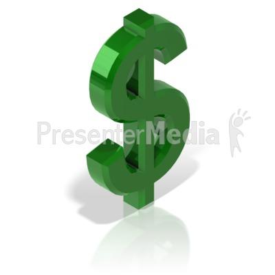 Dollar Symbol Alt Presentation clipart