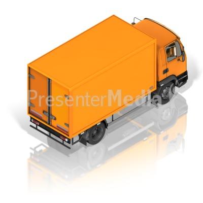 Delivery Truck Back Presentation clipart