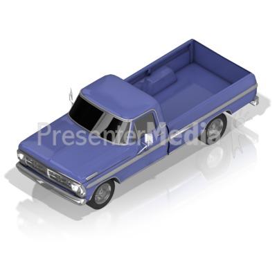Pickup Truck Presentation clipart