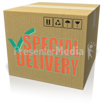 Cardboard Box Custom Presentation clipart