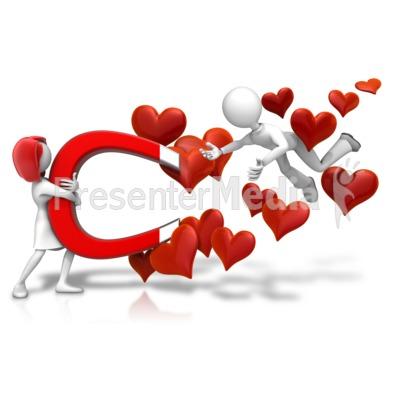 Love Attraction Male Presentation clipart