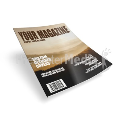 Single Magazine Presentation clipart