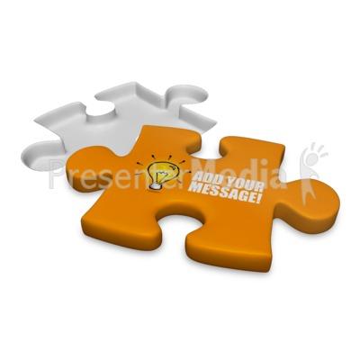 Puzzle Piece Custom Presentation clipart