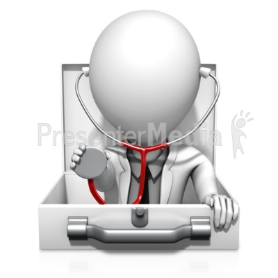 Medical Inquiry Doctor Presentation clipart