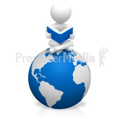 Figure Education World Presentation clipart