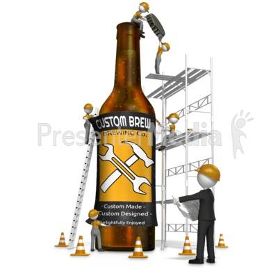 Making Craft Beer Presentation clipart