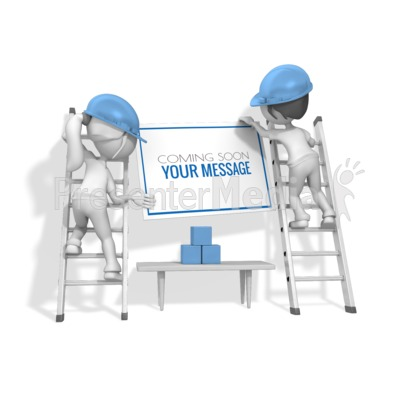 Women Carpenter Sign Presentation clipart