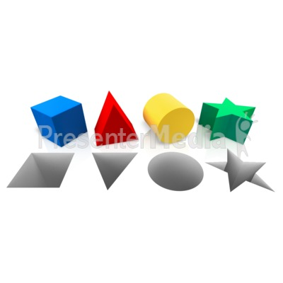 Shapes Corresponding Hole Presentation clipart