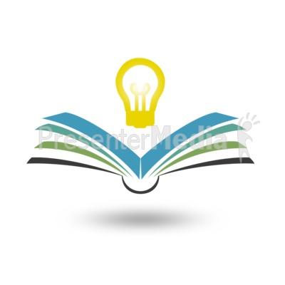 Reading Bright Idea Presentation clipart