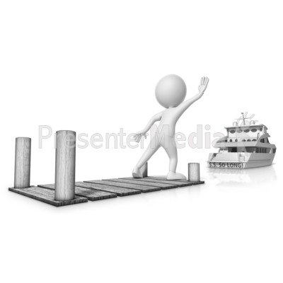 Missed The Boat Presentation clipart