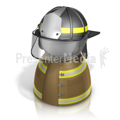 Firefighter Pawn Presentation clipart
