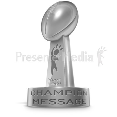 Football Trophy Presentation clipart