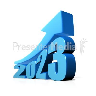 Custom Year Growth Presentation clipart