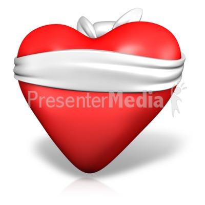 Love Is Blind Heart Presentation clipart